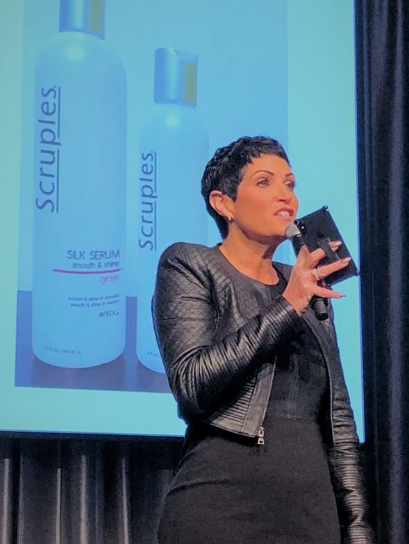 <strong>Tracy Liguori</strong>, co-president of marketing and advertising, Scruples Holding, LLC.