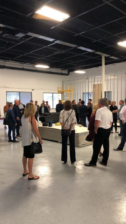 A tour of the construction, underway,at BIG HQ to make the facility a turn-key location for training, education, and filming.