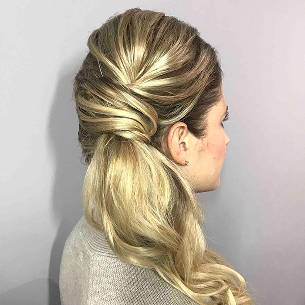 HOW-TO: Mixed Media Ponytail