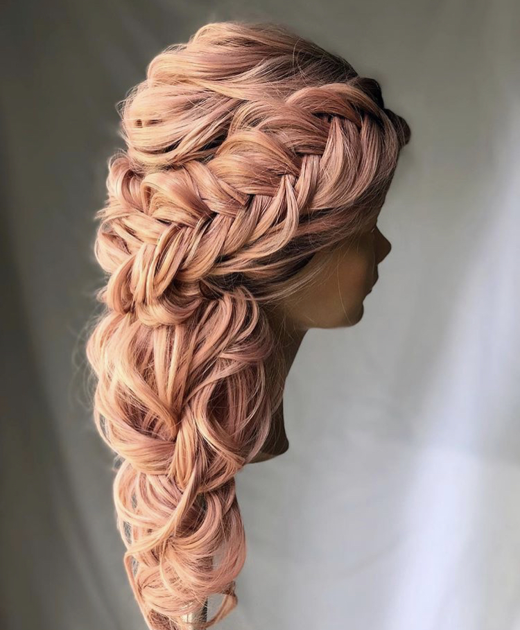 Pink lemonade braid