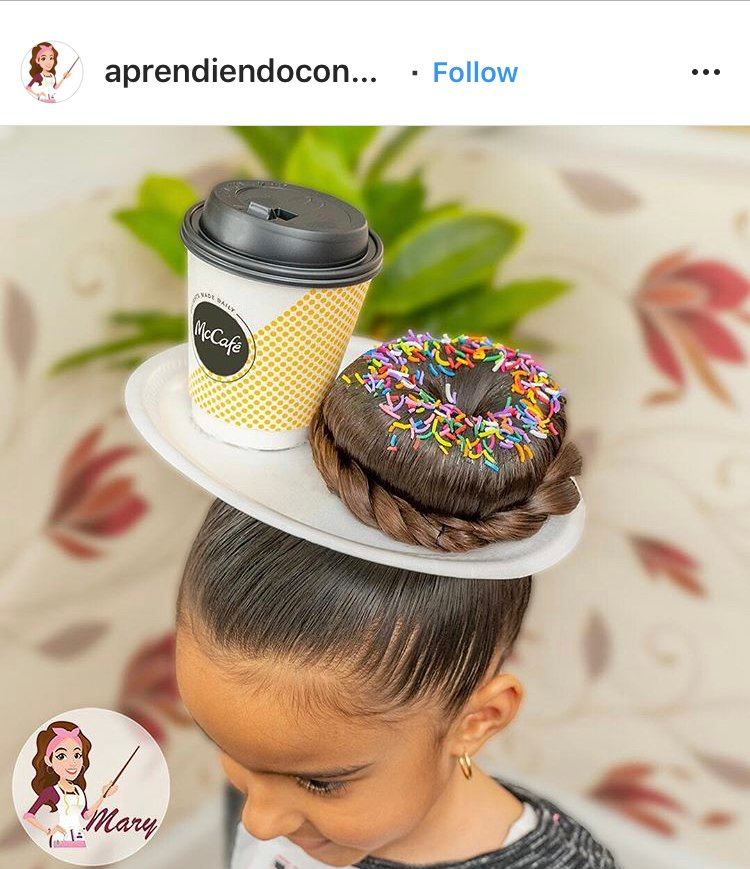 This is probably the most delicious-looking hairstyle we've ever seen.