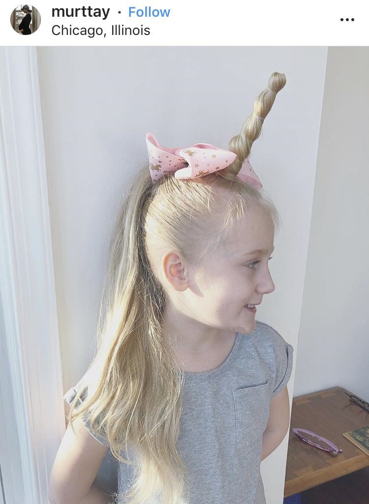 Unicorns, pastels, bows and a blonde... what's not to love!?