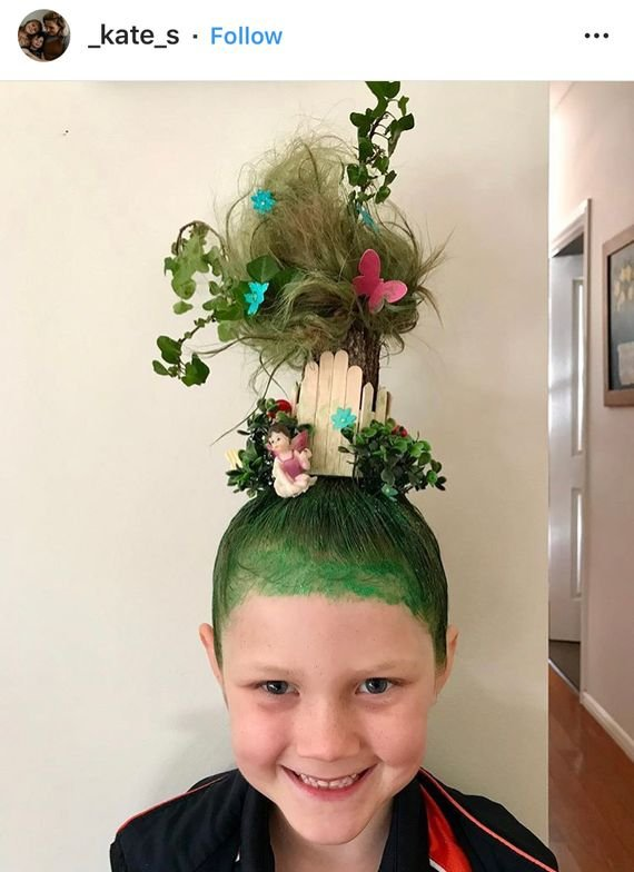 There are a million reasons to love this little's 'do!