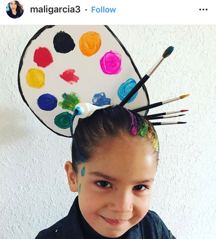 Because this parent has major styling skills that deserve to be seen...