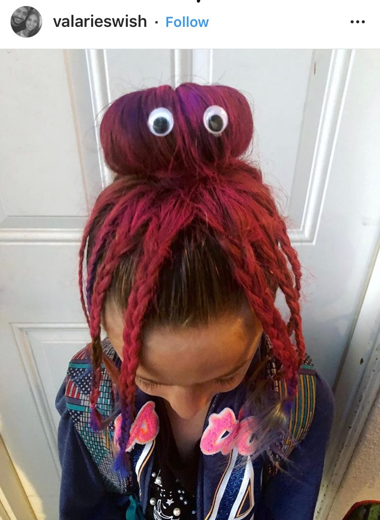 29 Cute Ideas For Kids Crazy Hair Day At School Style