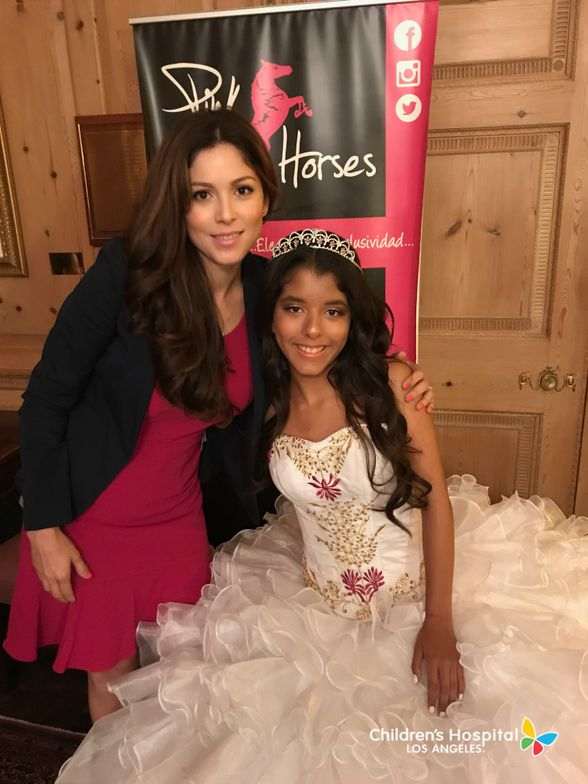 Kailey Farias, 14, suffers from a rare blood condition that requires weekly transfusions. She has plans to be a cheerleader. Photo courtesy of CHLA.