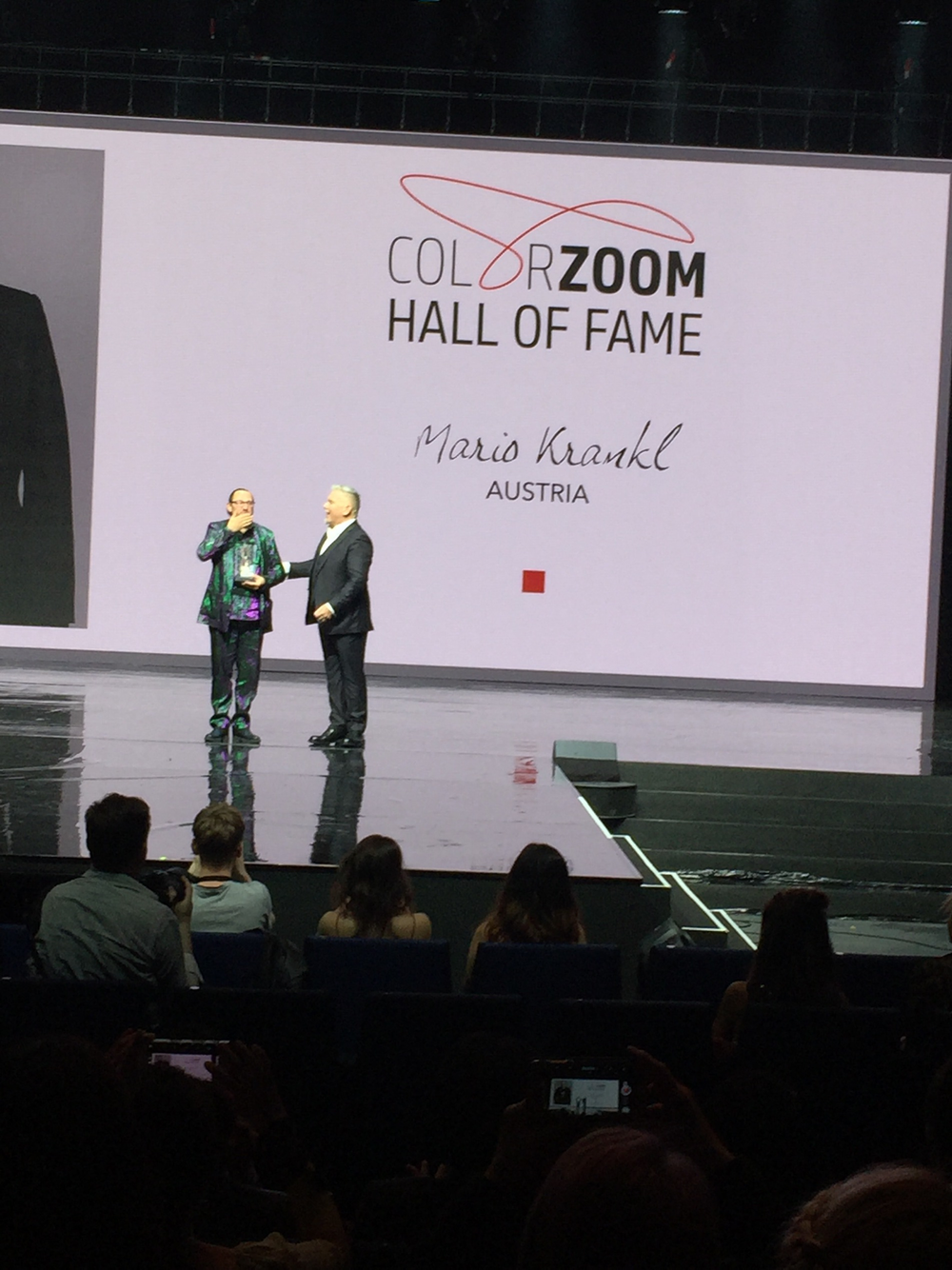 BREAKING NEWS: Color Zoom 2017 Winners Live From Barcelona - Salon