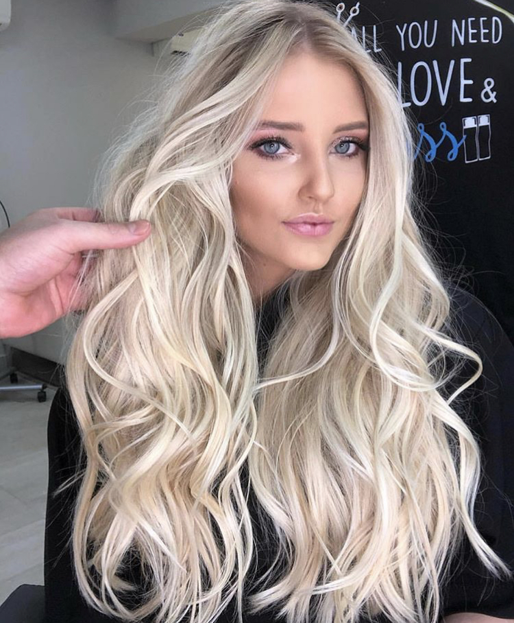 @mariohenriqueoficial gave this beauty some blonde locks to remember using Truss Professional.