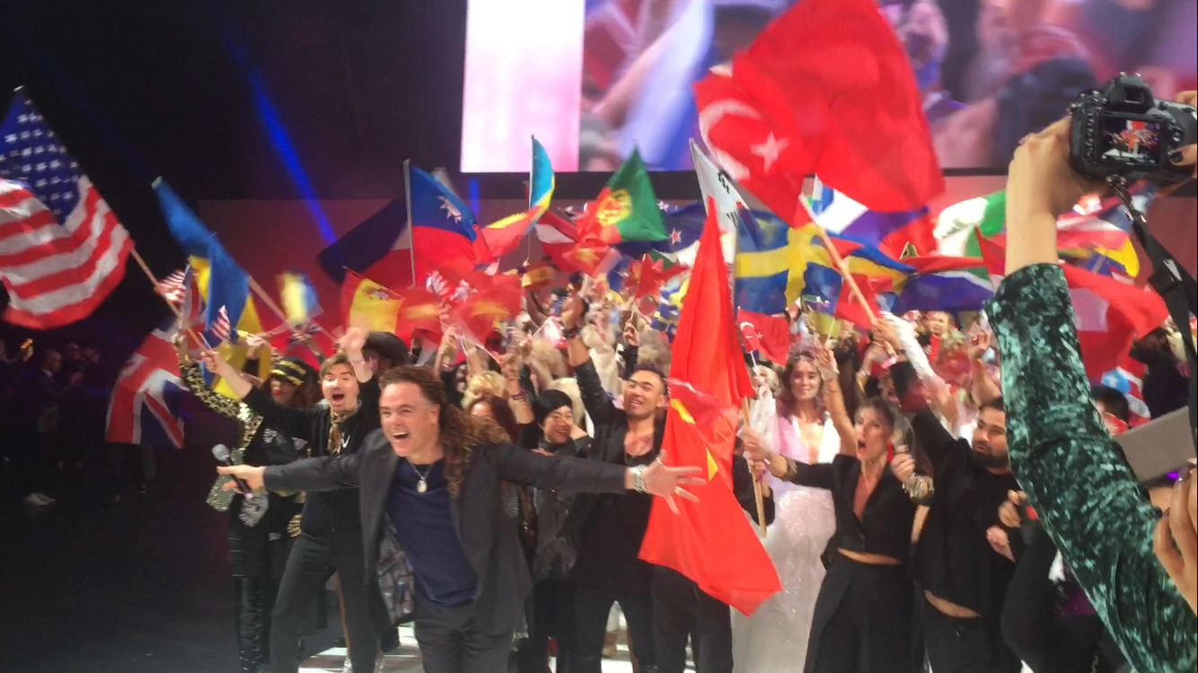 An Up Close and Fun Look At The ITVA 2017 Parade Of Nations
