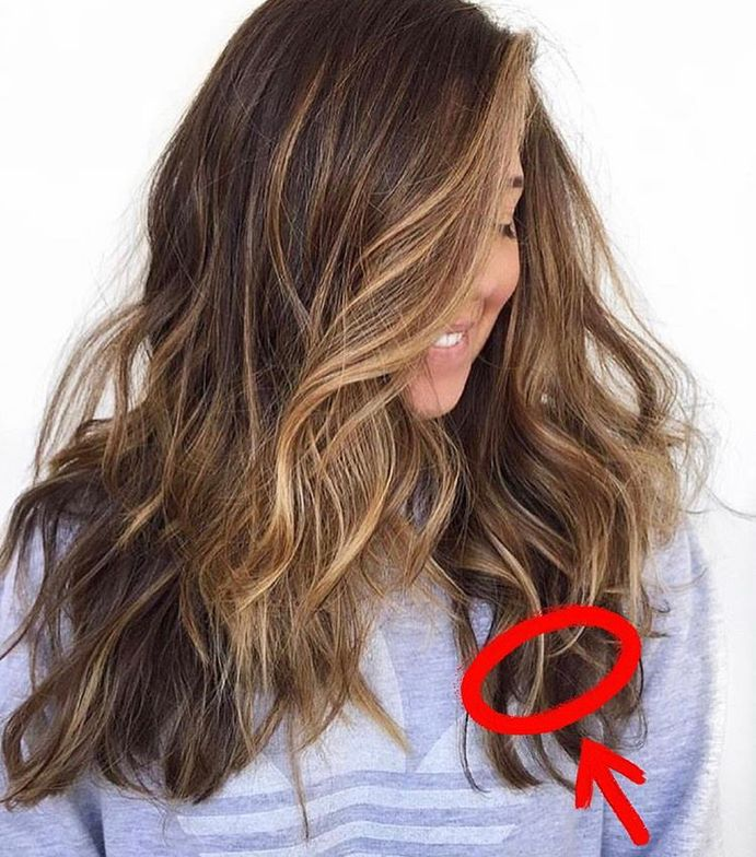"<span title=""Edited"">""When a brunette guest asked for dimension within the hair, this area of the head is a perfect area to introduce natural-looking depth. When we want clients to have a range of luxury tones, your depth distribution is JUST as important as where light should live,"" Sea says.<br /></span>"