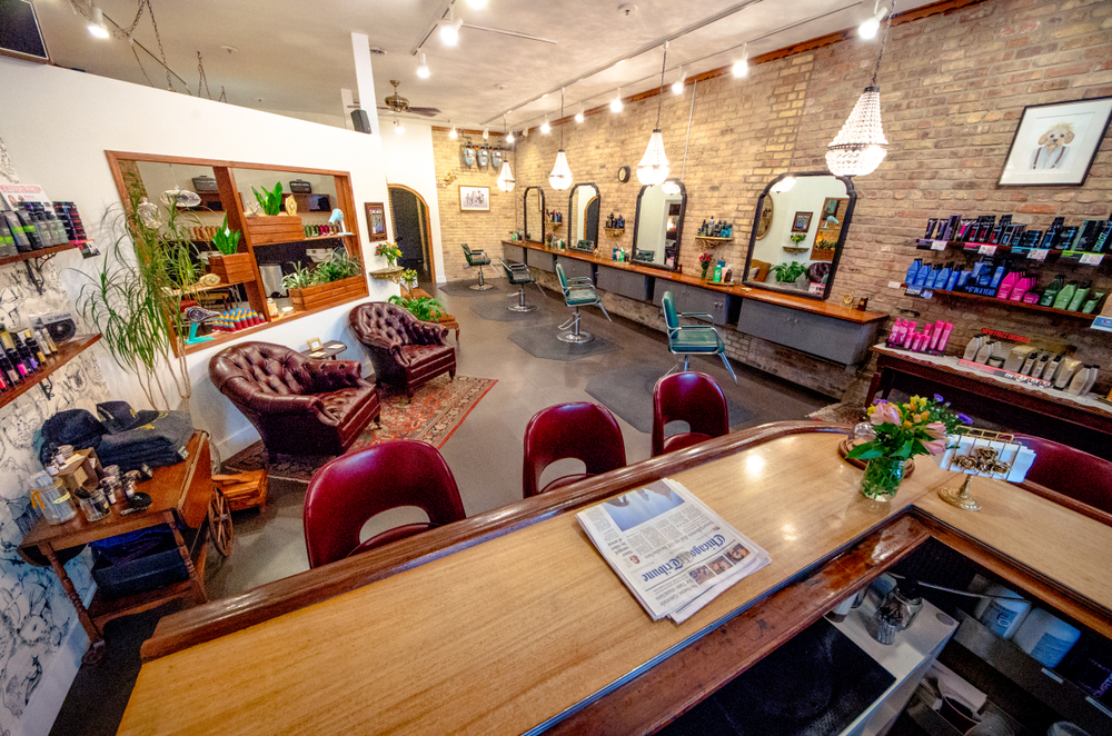 Chicago's Logan Parlor, owned by Tricia Serpe and Jamie DiGrazia