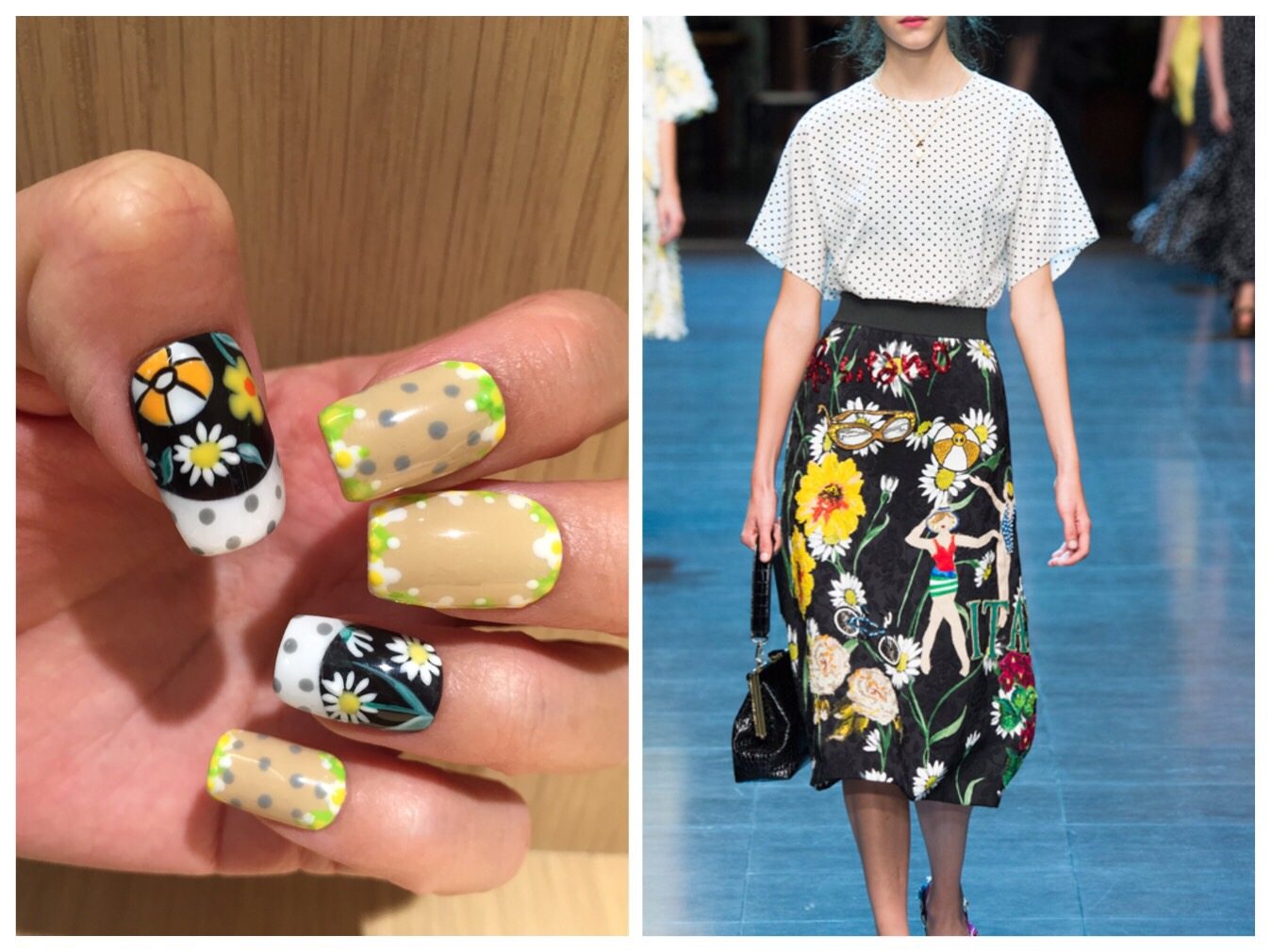 HOW-TO: Dolce & Gabbana-Inspired Nail Art