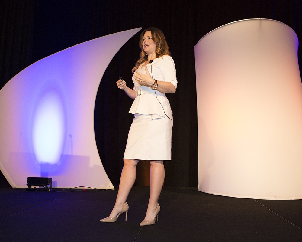 """Cosmoprof's Jenny Bayer will take the ISBN stage with her presentation, """"Be Funny, Be Witty, Be Pretty"""" on Monday May 7 at 2:30 PST."""