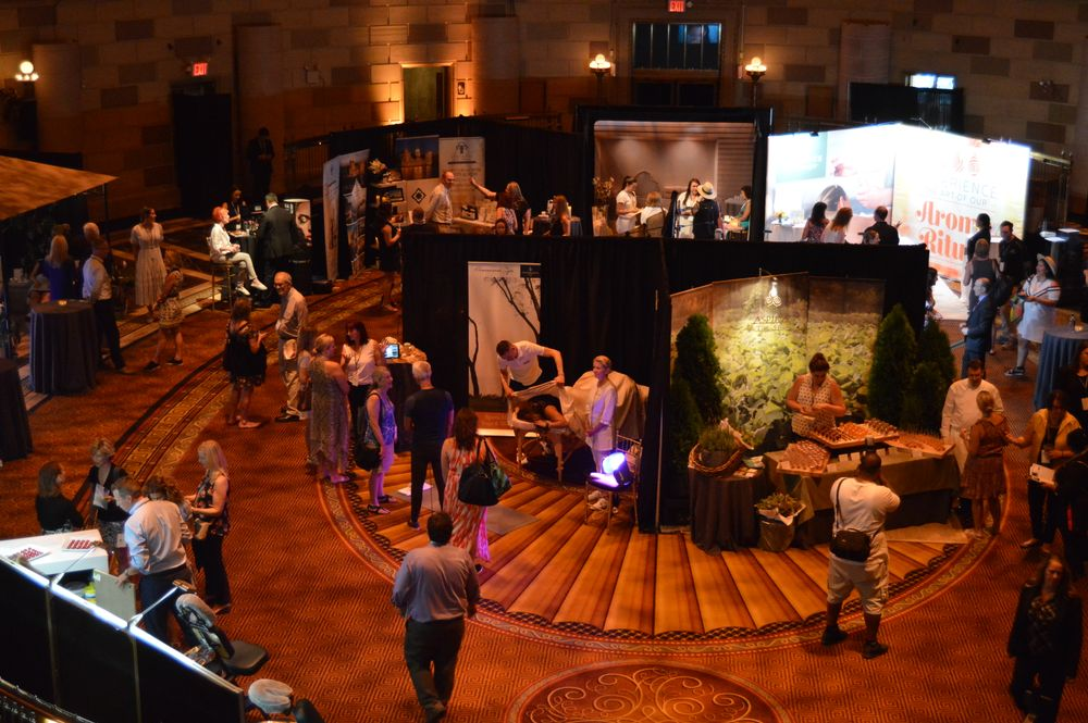An overview of the ISPA Media Event, Gotham Hall, NYC.