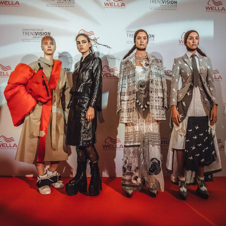 "Some of Eugene Soulieman's favorite fashion looks presented to the attendees of Wella Professionals ITVA2018 ""Creative Retreat Experience"" held in Lisbon, Portugal."