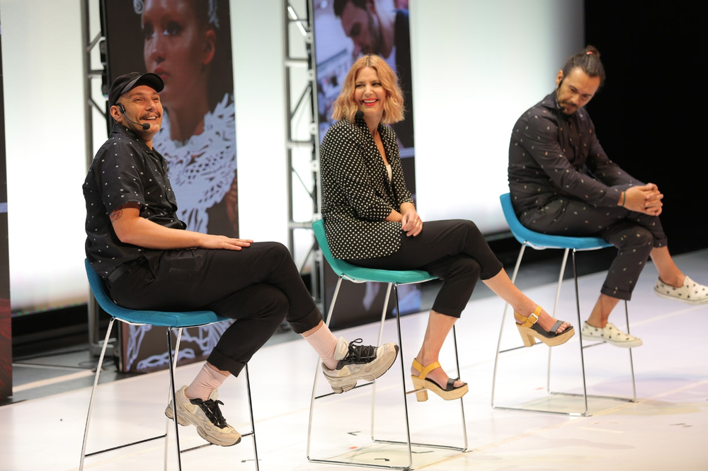 Aveda's Ian Michael Black, Janell Gleason and Ricardo Dinis shared their stories of failure, and how they helped them learn.