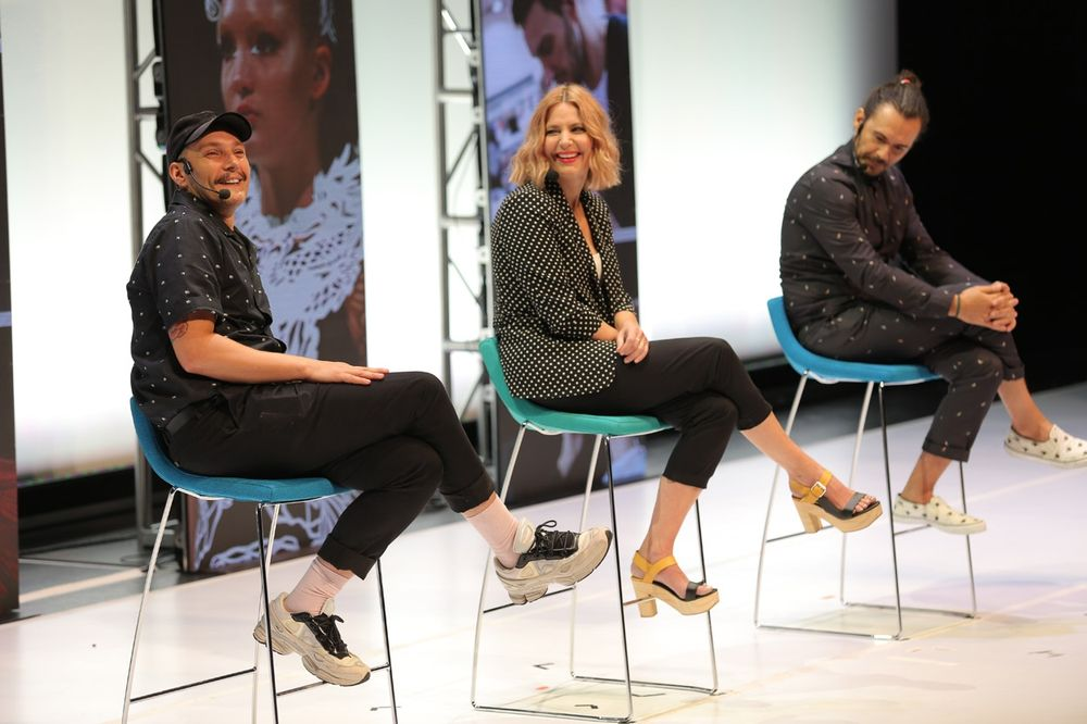 <p>Aveda&#39;s Ian Michael Black, Janell Gleason and Ricardo Dinis shared their stories of failure, and how they helped them learn.</p>