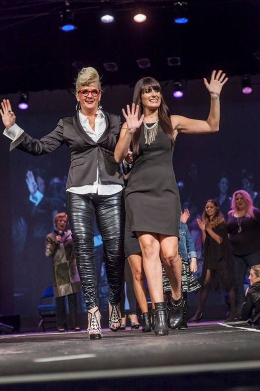 For 16 years, the Ihloff Salon and Day Spa with three locations in Oklahoma has organized an annual Creative Team Fall Show which shows off the salon's creative capabilities while raising money for a good cause. Here, the creatives directors take the runway.