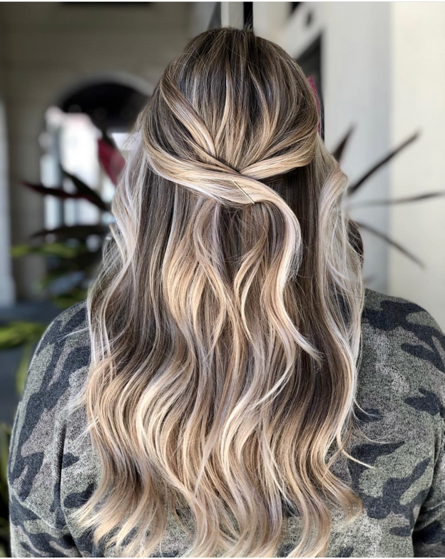 <p><strong>Ashley Feht, @ashleyfehthair created this silver and pearl color. She used LAKMÉ k.blonde Silver toner to produce the smoky tones.</strong></p>