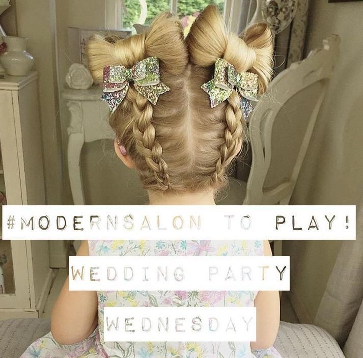 Tune in Wednesday, August 24 for our next Wedding Party Wednesday contest on MODERN's Instagram @modernsalon.
