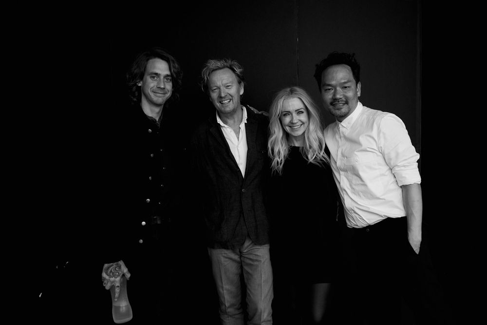 James Pecis, Ronnie Stam, Nicci Welsh and Kien Hoang
