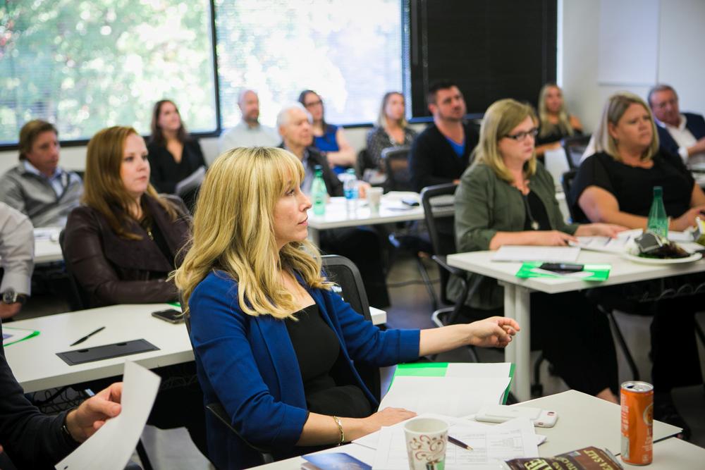 ISBN members were treated to presentations from senior Gene Juarez leaders.