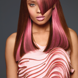 The perfect pink color by Paul Mitchell.