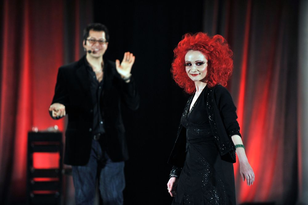 Haircolor education with Marco Pelusi at ISSE