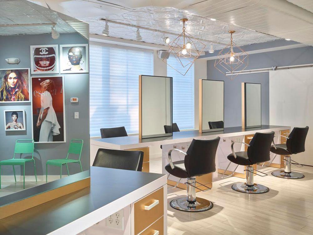 Millard Kwon Design: Jessica Todd Salon in Portsmouth, New Hampshire