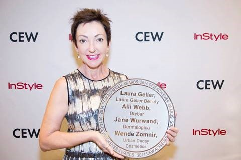Dermalogica founder and chief visionary, Jane Wurwand, receives the CEW Achiever Award for her achievements as an industry entrepreneur revolutionizing the professional skin care industry.