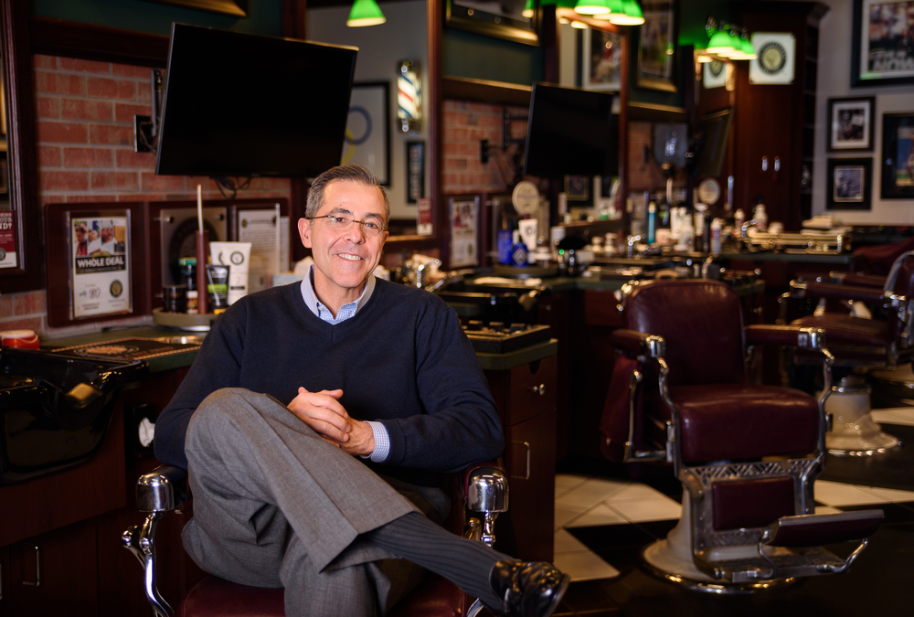 V's Barbershop founder and CEO Jim Valenzuela will meet with ISBN delegates.