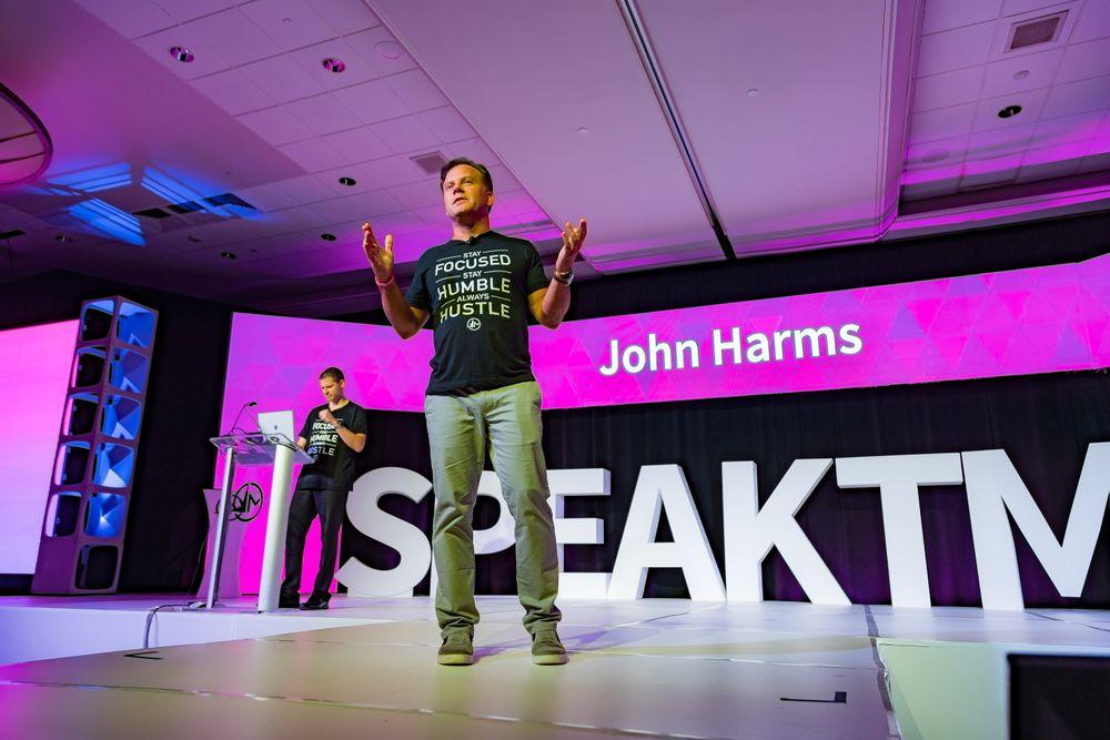 John Harms introduces Meevo 2.0 at TME.