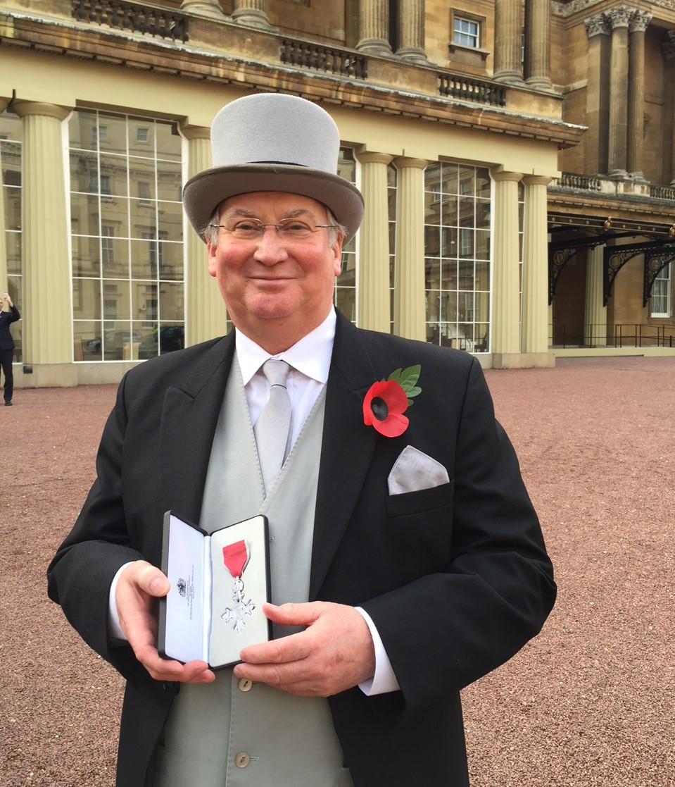 <p><strong></strong></p> <p><em>Chairman of The Denroy Group and Denman International, John Rainey was awarded with the title of MBE (Most Excellent Order of the British Empire).</em></p>