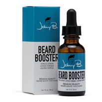 Johnny B Expands Beard Care with Beard Booster Lotion