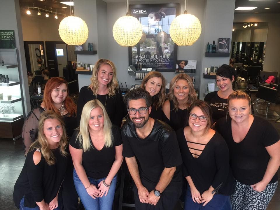 The team from Joli Salon and Spa in Lexington, KY.