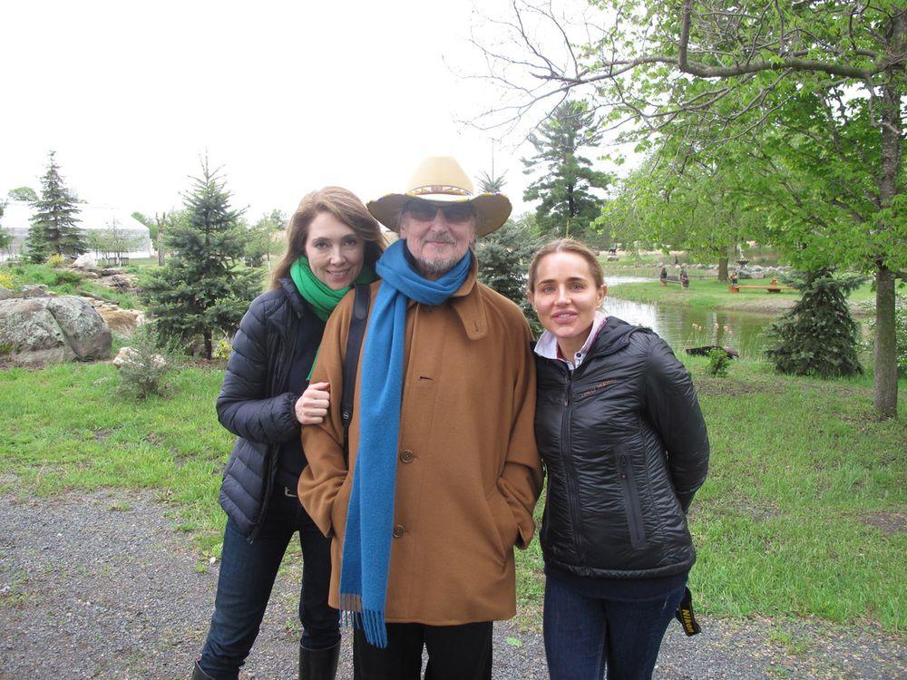 <strong>Kiran Stordalen, Horst Rechelbacher and Nicole Thomas-Rechelbacher</strong>