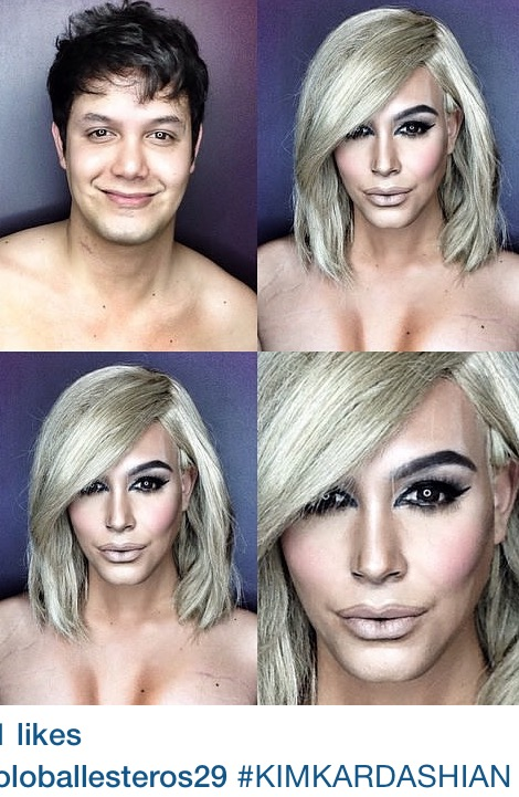 Transforming Powers Of Hair And Makeup: WOW