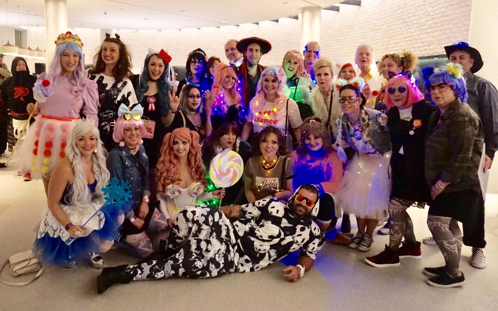 Day With Keune closed with a Harajuku-themed Tokyo Neon Disco party benefiting the Keune Foundation Ball