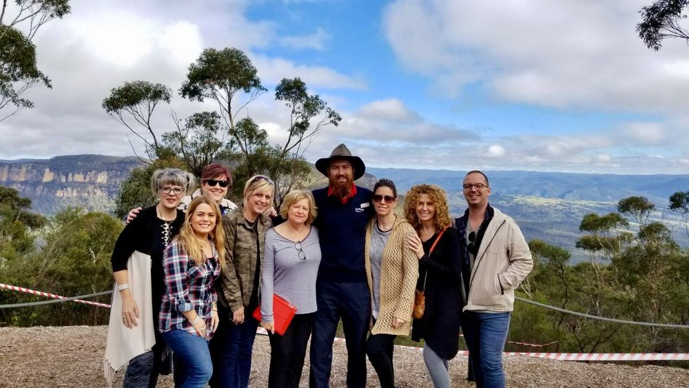 Part of the KLC group went on a day trip to take in the beauty of Australia.