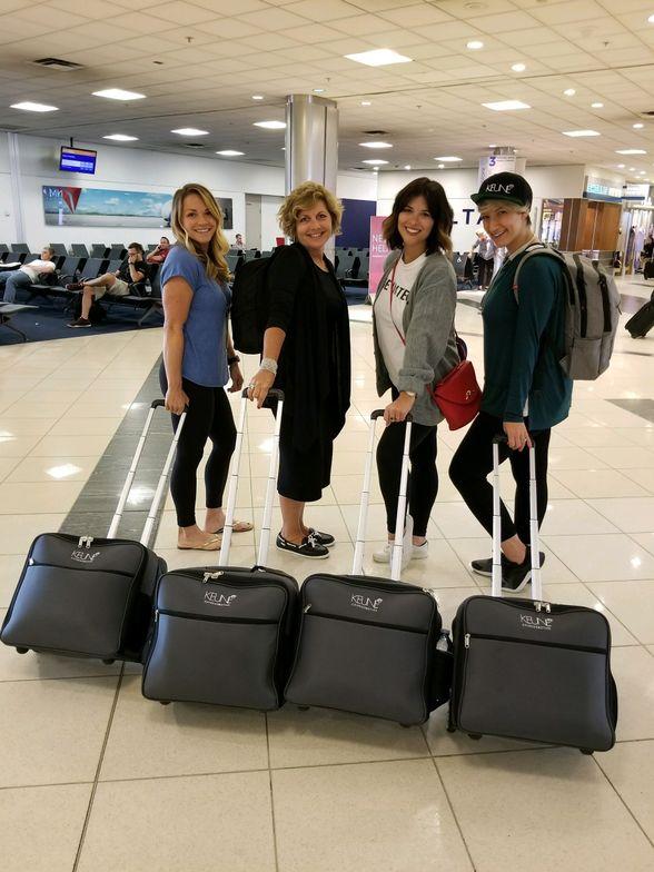 The amazing KLC hosts: Rachel Litsky, Rita Rubenstein, Gabriella Arenas and Rachael Hoffman.