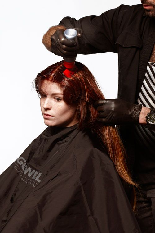 8. Apply gloss: At the base: Elumen with ½ BK@6 and ½ KK@all to make a brighter, more intense brown copper.