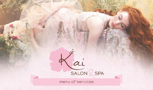 2013 STAMP Service Menu Winner: Kai Salon & Spa