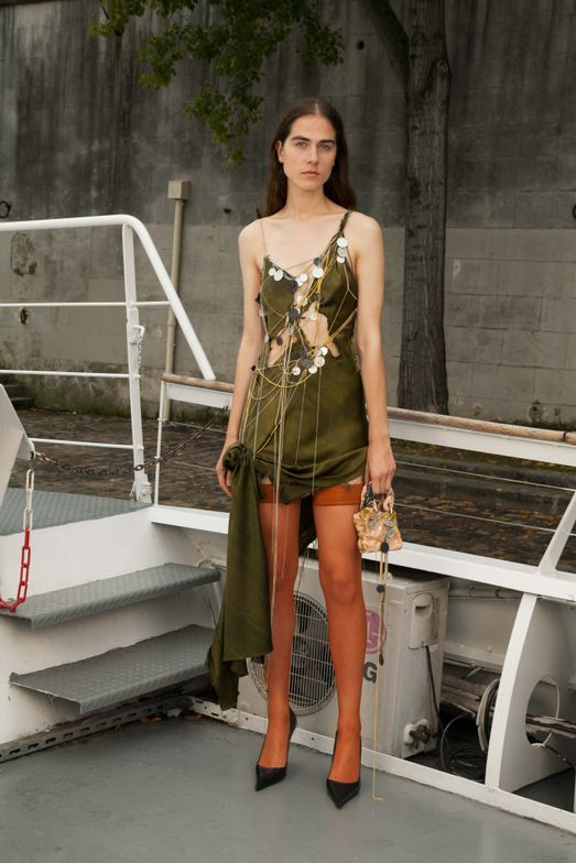 A look from the NYFW presentation of Ottolinger.