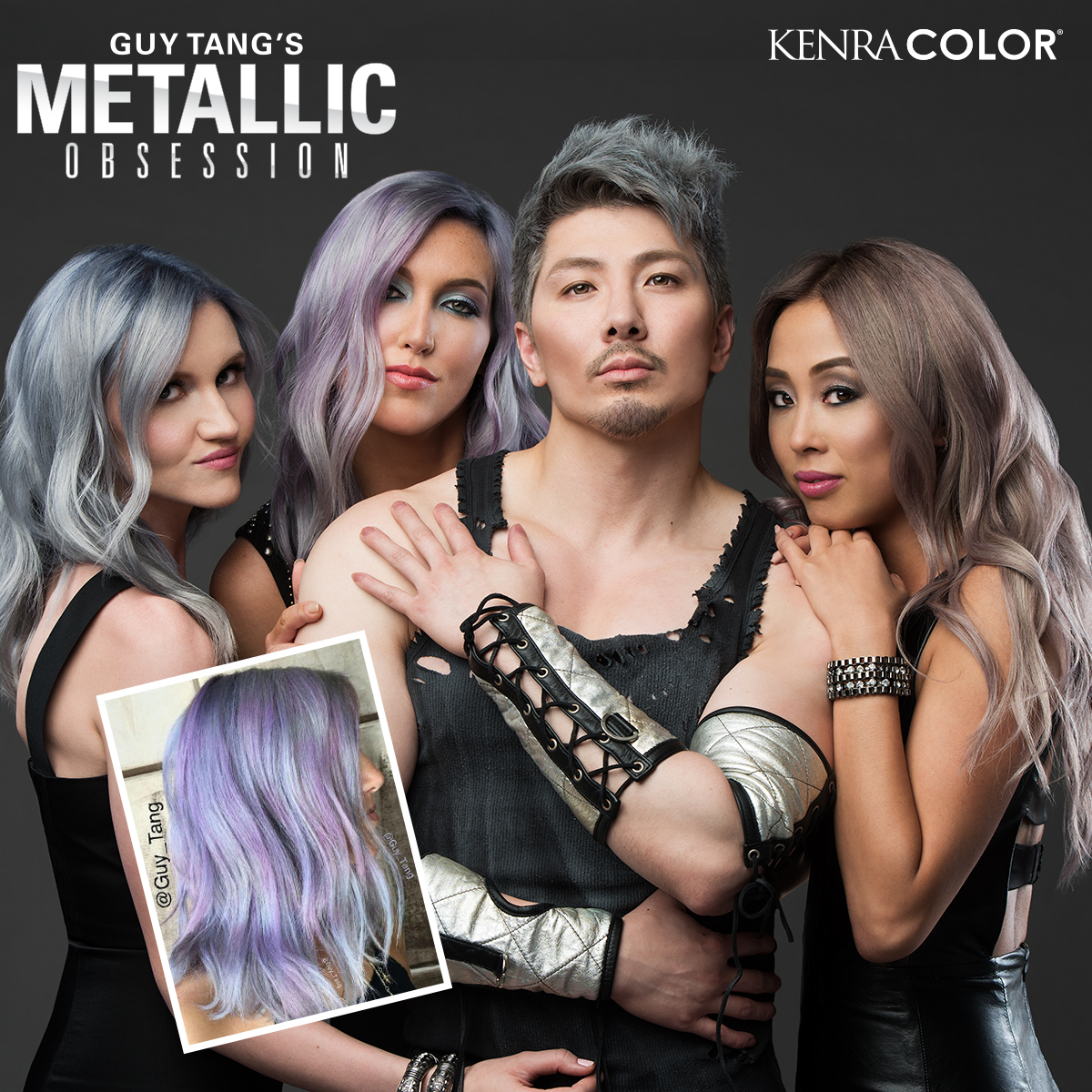 Kenra Color Collaborates with Guy Tang for Metallics Line