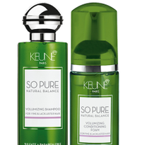 Keune Haircosmetics Introduces So Pure Volumizing Duo