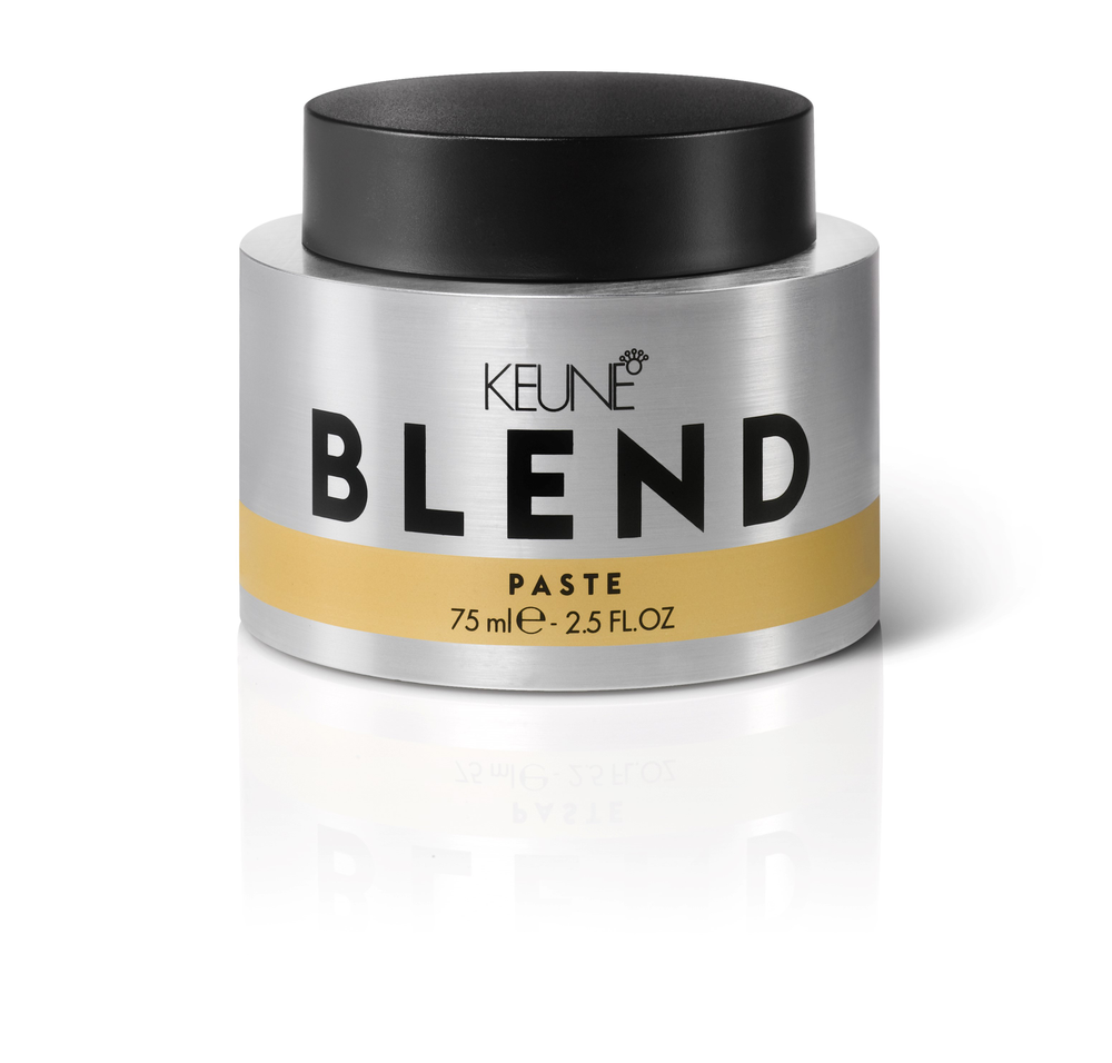 "<p>""Keune Blend Paste adds shine and the holding power can't be beat. It's not sticky and can be restyled because it doesn't 'dry.' I've never used a product like it—it's my number-one seller.""</p> <p>-@karakenneyforhair</p> <p> </p>"