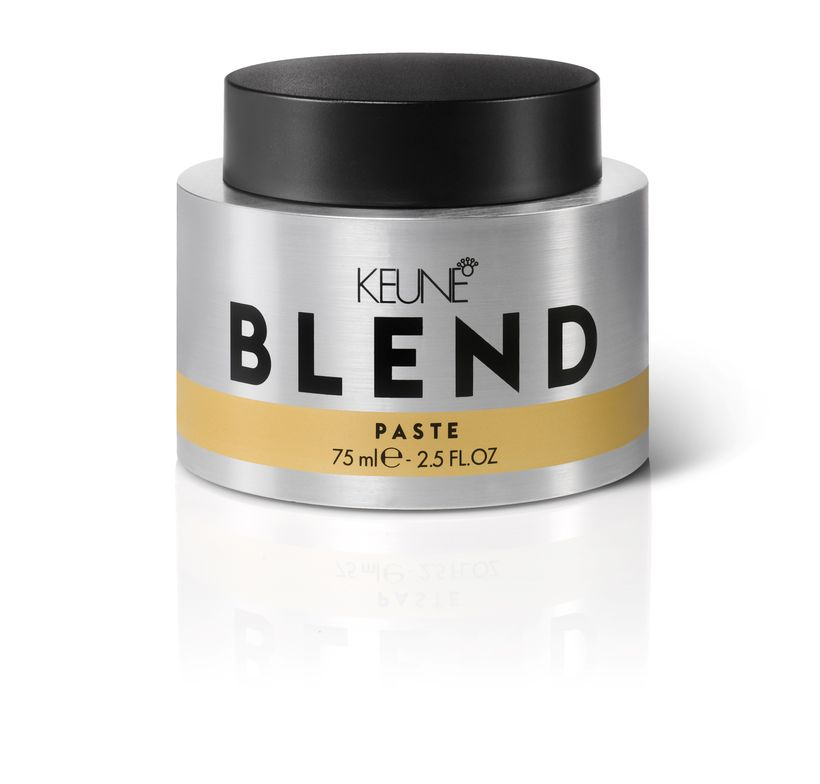 """<p>""""Keune Blend Paste adds shine and the holding power can't be beat. It's not sticky and can be restyled because it doesn't 'dry.' I've never used a product like it—it's my number-one seller.""""</p> <p>-@karakenneyforhair</p> <p></p>"""