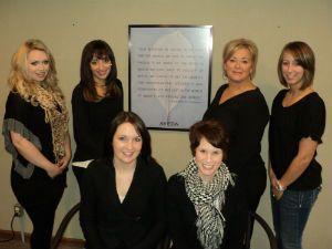 The staff of Kirsten Salon in Hartland, Wisconsin.