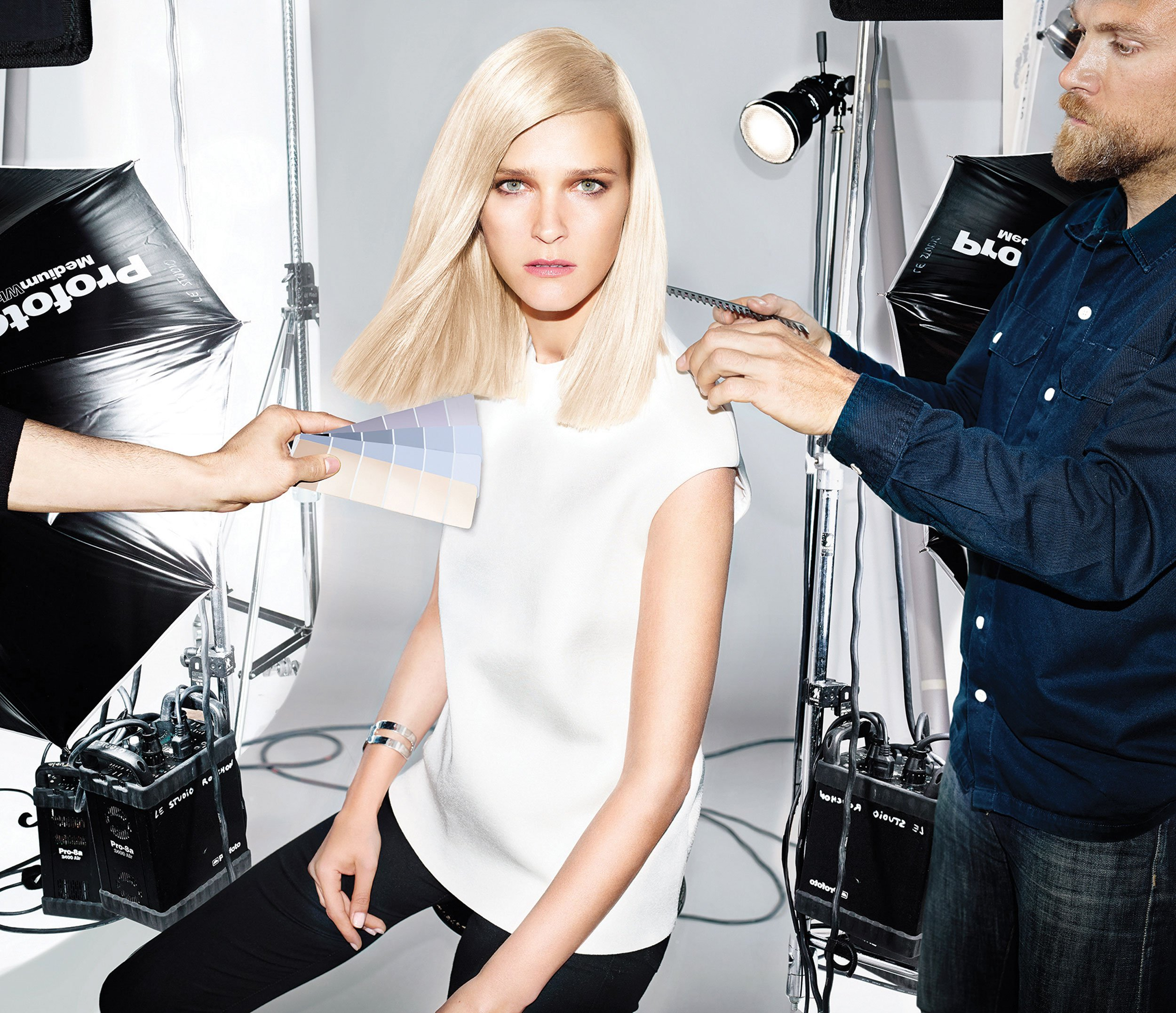 L'Oréal Color How-To: Icy Blonde