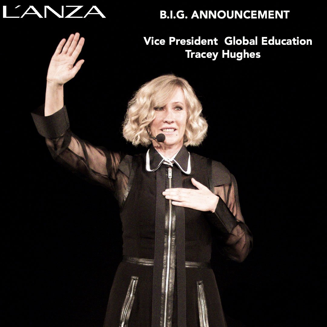 Tracey Hughes is L'anza's new VP Global Education.